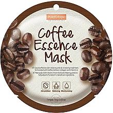 Parfumuri și produse cosmetice Mască de colagen cu extract de cafea pentru față - Purederm Coffe Essence Mask
