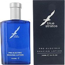 Parfumuri și produse cosmetice Parfums Bleu Blue Stratos - Loțiune înaintea rasului electric
