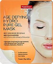 Parfumuri și produse cosmetice Mască anti-îmbătrânire cu hidrogel pentru față - Purederm Age Defying Hydro Pure Gel Mask