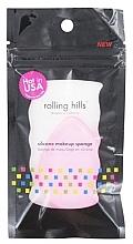 Parfumuri și produse cosmetice Burete din silicon pentru machiaj, roz - Rolling Hills Silicone Makeup Sponge Pink