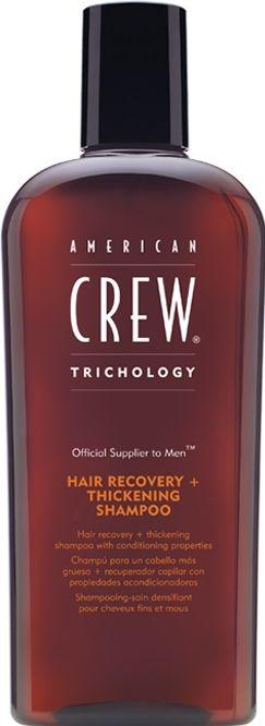 Șampon regenerant pentru refacerea structurii părului - American Crew Classic Hairrecovery+Thickening Shampoo — Imagine N1