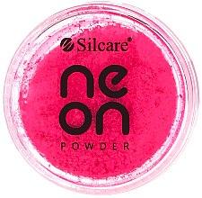 Parfumuri și produse cosmetice Pudră pentru unghii - Silcare Neon Powder