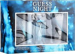 Parfumuri și produse cosmetice Guess Night - Zestaw (edt/100ml + sh/gel/200ml + deo/226ml)