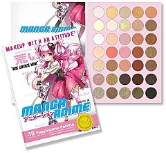 Parfumuri și produse cosmetice Paletă farduri de ochi - Rude Manga Anime Eyeshadow Palette