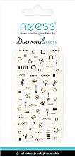 Parfumuri și produse cosmetice Nail Art Stickers, 3709 - Neess Diamondneess