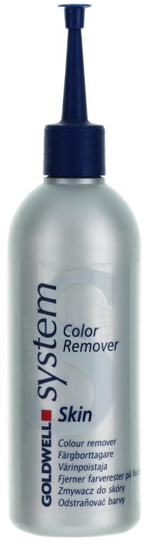 Loțiune pentru înlăturarea vopselei de păr de pe piele - Goldwell System Color Remover Skin  — Imagine N1
