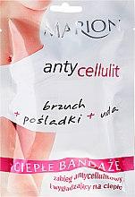 Parfumuri și produse cosmetice Bandaje elastice pentru împachetari corporale la cald - Marion Anti-Cellulite Hot Bandages