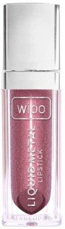 Ruj lichid de buze - Wibo Liquid Metal Lipstick — Imagine 02 - Powerfull Women
