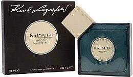 Parfumuri și produse cosmetice Karl Lagerfeld Kapsule Woody - Apă de toaletă