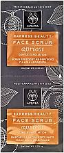 Parfumuri și produse cosmetice Scrub pentru față - Apivita Express Beauty Face Scrub With Apricot