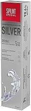 Pastă antibacteriană de dinți, pentru albire delicată - SPLAT Special Silver — Imagine N5
