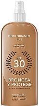 Parfumuri și produse cosmetice Loțiune pentru bronz - Mediterraneo Sun Suntan Lotion SPF30