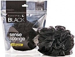 Parfumuri și produse cosmetice Burete de baie - Suavipiel Black Men Sense Sponge