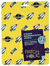 Parfumuri și produse cosmetice Patch-uri pentru față - Patch Holic Sticker Soothing Patch Utopia