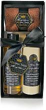 Parfumuri și produse cosmetice Set - Beeing True (sh/gel 125ml + sh/balm 125ml + prosop)