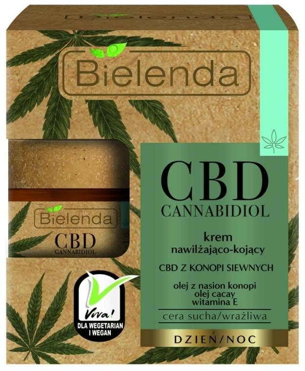 Cremă hidratantă de față - Bielenda CBD Cannabidiol Cream