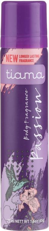 Deodorant - Tiama Body Deodorant Passion