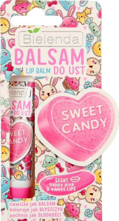 "Balsam de buze ""Candy Lip"" - Bielenda Sweet Candy Lip Balm"