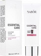 Parfumuri și produse cosmetice Cremă pentru ten sensibil - Babor Essential Care Sensitive Cream