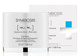 Parfumuri și produse cosmetice Cremă pentru conturul feței și gâtului - Symbiosis London Full Neck Firmness Enhancing Treatment