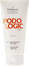 Peeling pentru picioare - Farmona Professional Podologic Acid Foot Gel Exfoliating — Imagine N2