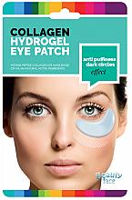 Parfumuri și produse cosmetice Mască cu alge marine pentru zona ochilor - Beauty Face Collagen Hydrogel Eye Mask