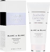 Parfumuri și produse cosmetice Cremă de față - Isabelle Lancray Blanc De Blanc Royal White Cream