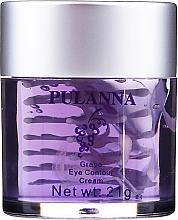 Parfumuri și produse cosmetice Cremă pentru zona ochilor - Pulanna Grape Eye Countour Cream