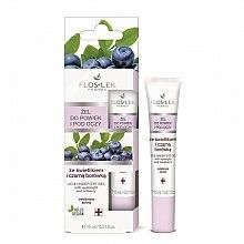 Parfumuri și produse cosmetice Gel cu extract de Euphrasia și afine pentru pleoape și zona ochilor - Floslek Lid And Under Eye Gel With Eyebright & Bilberry
