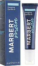 Parfumuri și produse cosmetice Ser pentru zona din jurul ochilor - Marbert Man Skin Power Energizing Eye Roll-on