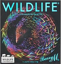 Parfumuri și produse cosmetice Paletă fard de ochi - Barry M Cosmetics Wildlife Eyeshadow Palette Pangolin