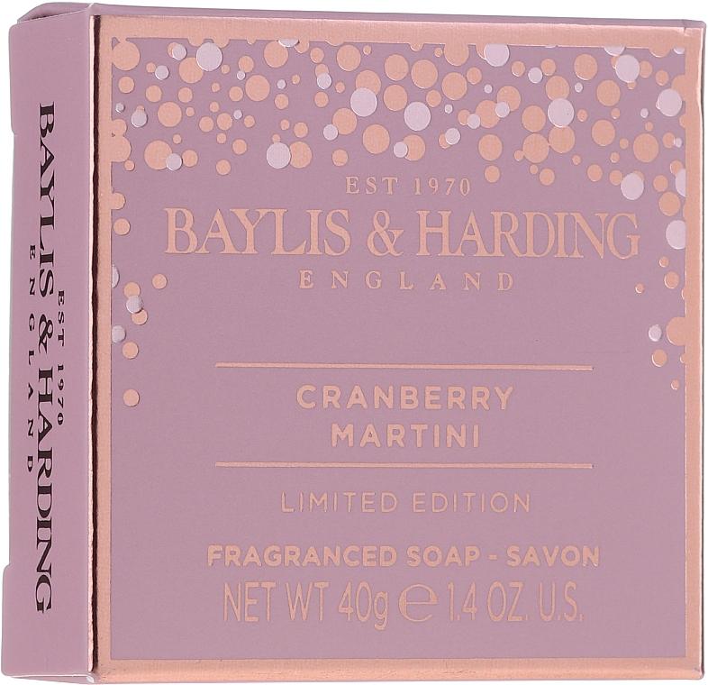Set - Baylis & Harding Cranberry Martini Collection Lip Set Pink (soap/40g + lip/gloss/12ml + sh/cr/30ml) — Imagine N3
