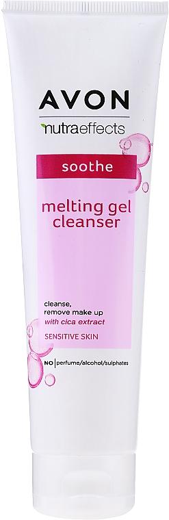 Gel calmant pentru curățarea tenului - Avon Nutra Effects Soothe Melting Gel Cleanser