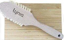 Parfumuri și produse cosmetice Perie din lemn pentru tălpi - Lynia