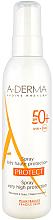 Parfumuri și produse cosmetice Spray de protecție solară pentru față - A-Derma Protect Spray Very High Protection SPF 50+