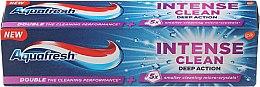"""Parfumuri și produse cosmetice Pastă de dinți """"Curățare intensivă, efect profund"""" - Aquafresh Intense Clean Deep Action Toothpaste"""