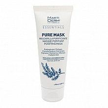 Parfumuri și produse cosmetice Mască pentru ten gras și problematic - MartiDerm Essentials Pure-Mask