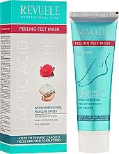 Parfumuri și produse cosmetice Mască-peeling pentru picioare - Revuele Professional Care Peeling Feet Mask