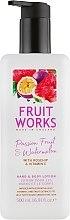 Parfumuri și produse cosmetice Loțiune pentru mâini și corp - Grace Cole Fruit Works Hand & Body Lotion Passion Fruit & Watermelon