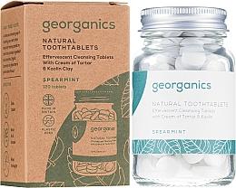 """Parfumuri și produse cosmetice Tablete pentru apă de gură """"Mentă"""" - Georganics Natural Toothtablets Spearmint"""