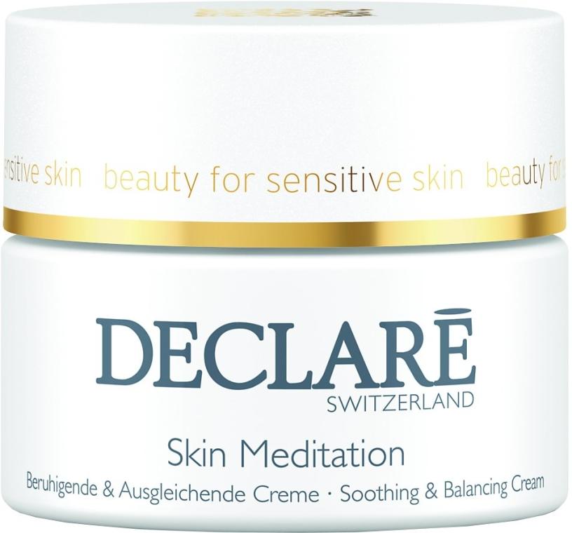 Cremă de față - Declare Skin Meditation Soothing & Balancing Cream — Imagine N1