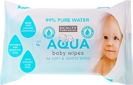 Parfumuri și produse cosmetice Șervețele hidratante pentru copii - Beauty Formulas Aqua Baby Wipes