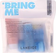 Parfumuri și produse cosmetice Set - Laneige Hydrating Trial Kit Bring Me (foam/30ml + ton/50ml + ser/10ml + cr/10ml + mask/15ml)