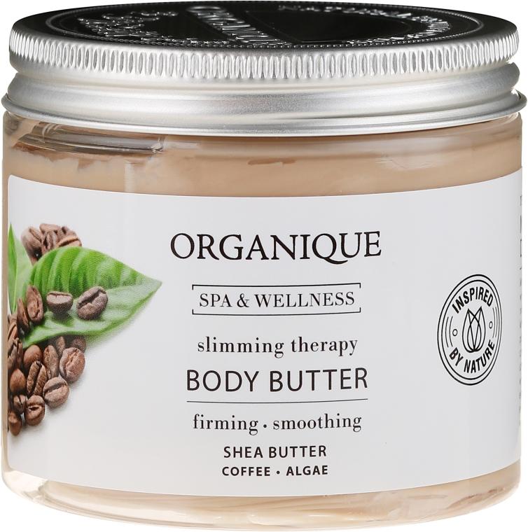 Ulei bifazic pentru hidratarea pielii, anticelulitic - Organique Spa Therapie Coffee Body Butter — Imagine N1