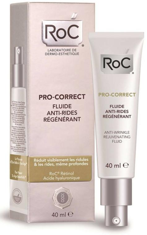 Fluid pentru față - RoC Pro-Correct Anti-Wrinkle Rejuvenating Fluid — Imagine N1
