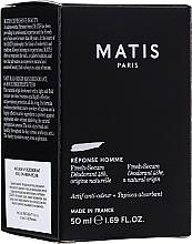 Parfumuri și produse cosmetice Deodorant - Matis Reponse Homme Fresh Secure Deodorant 48H Natural Origin