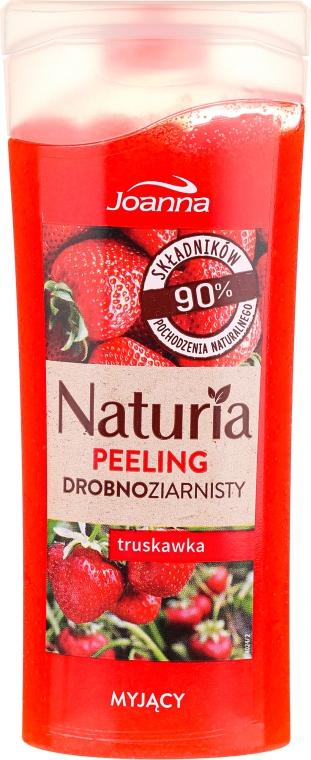 """Peeling fin pentru duș """"Căpșună"""" - Joanna Naturia Peeling"""