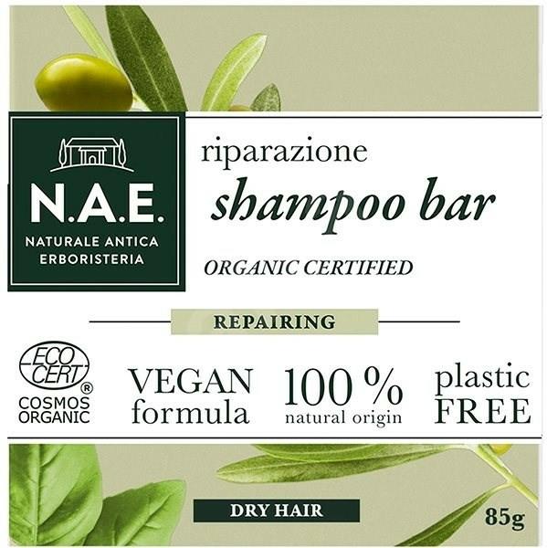 Șampon solid pentru păr uscat - N.A.E. Repairing Shampoo Bar — Imagine N1