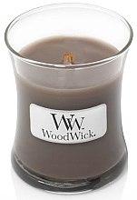 Parfumuri și produse cosmetice Lumânare aromată în suport de sticlă - WoodWick Hourglass Candle Sand & Driftwood