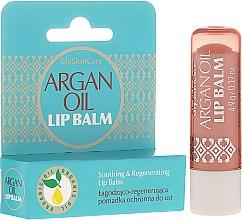Parfumuri și produse cosmetice Balsam de buze cu ulei de argan - GlySkinCare Argan Oil Lip Balm